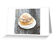 little pancakes? Greeting Card
