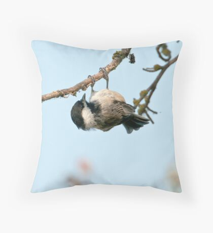 Acrobatics Throw Pillow