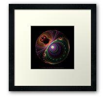 Da Vinci Sphere Framed Print