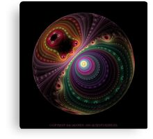 Da Vinci Sphere Canvas Print