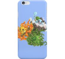 pokemon charmander bulbasaur squirtle anime chibi shirt iPhone Case/Skin