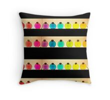 full colour festival Throw Pillow