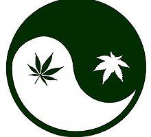 Weed YinYang by Esoteric Exposal