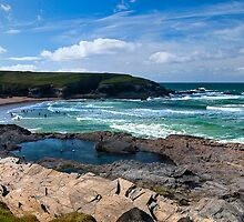 Cornish Summer by Steve plowman