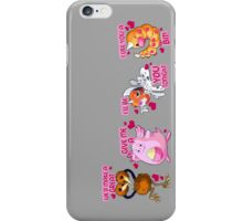 pokemon chansey weedle doduo valentine anime shirt iPhone Case/Skin
