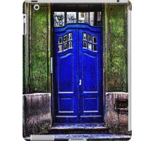The Old Blue Door Fine Art Print iPad Case/Skin