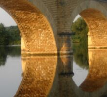 """""""Reflected  tranquility""""  -  Mauzac, France Sticker"""