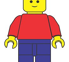 Original Lego Mini Figure by AtomicKnight