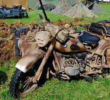 Motorbike by Tony Dewey