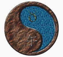 Taurus & Horse Yang Water One Piece - Short Sleeve