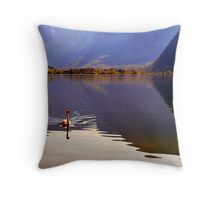 Hallstättersee Throw Pillow