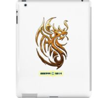 Golden Dragon tee-shirt and stickers iPad Case/Skin