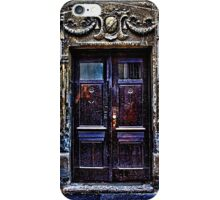 Vintage Door Fine Art Print iPhone Case/Skin