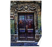 Vintage Door Fine Art Print Poster