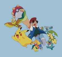 pokemon ash pikachu anime shirt by JordanReaps