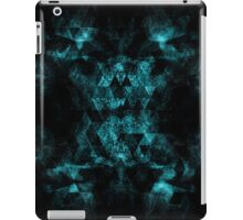 Triangle Geometric Turquoise Smoky Space iPad Case/Skin