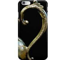 Silver Tea Pot Handle - Digital Oil Art Work iPhone Case/Skin