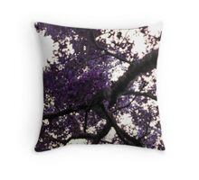 Purple in the Sky Throw Pillow