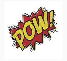 POW! Inspiration from Superhero Comics. Kids Tee