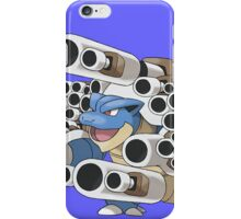 pokeon mega blastoise squirtle canon anime shirt iPhone Case/Skin