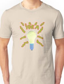 Bright Idea. Unisex T-Shirt