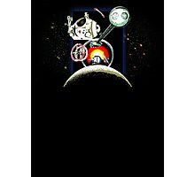 Odyssey Space 2001 Back Photographic Print