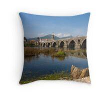 Pont de Lima, Portugal Throw Pillow