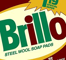 Brillo Box Package Colored 3 - Andy Warhol Inspired by peterpotamus
