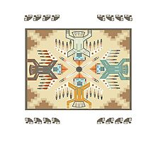 American Native Pattern No. 22 Photographic Print