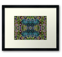 Blue Djinn Framed Print