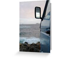 Evening at Sennen Cove Greeting Card
