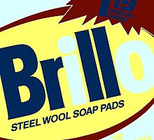 Brillo Box Package Colored 5 - Andy Warhol Inspired by peterpotamus