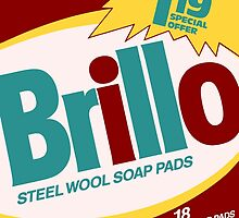 Brillo Box Package Colored 6 - Andy Warhol Inspired by peterpotamus