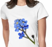 The beauty of blue Womens Fitted T-Shirt