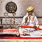 Opium Man - India by Scootarts