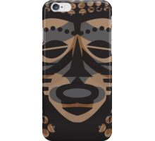 African Tribal Mask iPhone Case/Skin