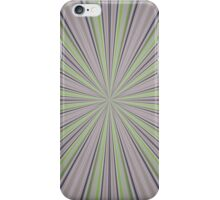 Grey and Green Abstract iPhone Case/Skin