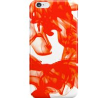 Water red iPhone Case/Skin