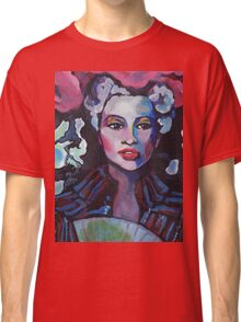 Colorful Lady Tee Classic T-Shirt