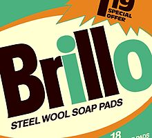Brillo Box Package Colored 7 - Andy Warhol Inspired by peterpotamus