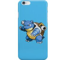 pokemon blastoise pixel anime shirt iPhone Case/Skin
