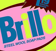 Brillo Box Package Colored 9 - Andy Warhol Inspired by peterpotamus