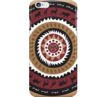 African Tribal Shield iPhone Case/Skin