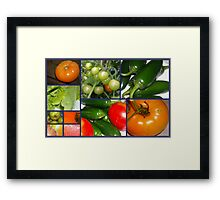 Produce From The Garden Framed Print