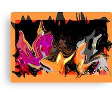 New Original Painting ~Autumn Night Shadows~ Canvas Print