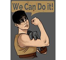 SHE can do it! Photographic Print