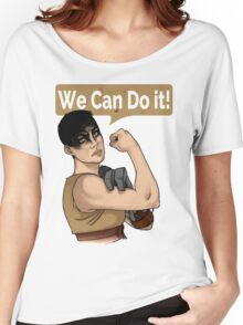 SHE can do it! Women's Relaxed Fit T-Shirt