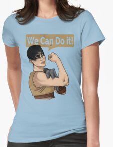 SHE can do it! Womens Fitted T-Shirt