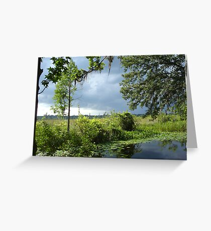 Storm on its way... Greeting Card