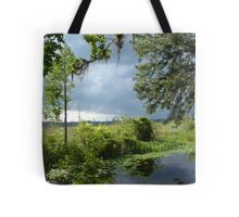 Storm on its way... Tote Bag